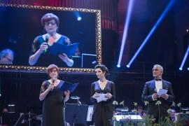 Na plesu s projevem také vystoupila náměstkyně primátorky hl. m. Prahy Eva Kislingerová.