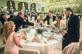 Přátelé z partnerského Bratislavského bálu se vítají s ďalšími vzácnymi hosty Česko-Slovenského plesu 2015