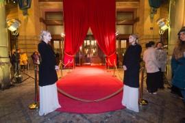 Naše hostesky očakávajúce príchod hostí