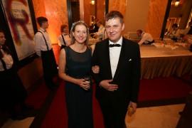 Česko-Slovenský ples 2020 poctil svojou prítomnosťou minister zahraničných vecí ČR Tomáš Petříček s manželkou Ivou
