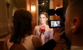 Modelka a moderátorka Andrea Verešová si takmer každý rok nenechá újsť Česko-Slovenský ples
